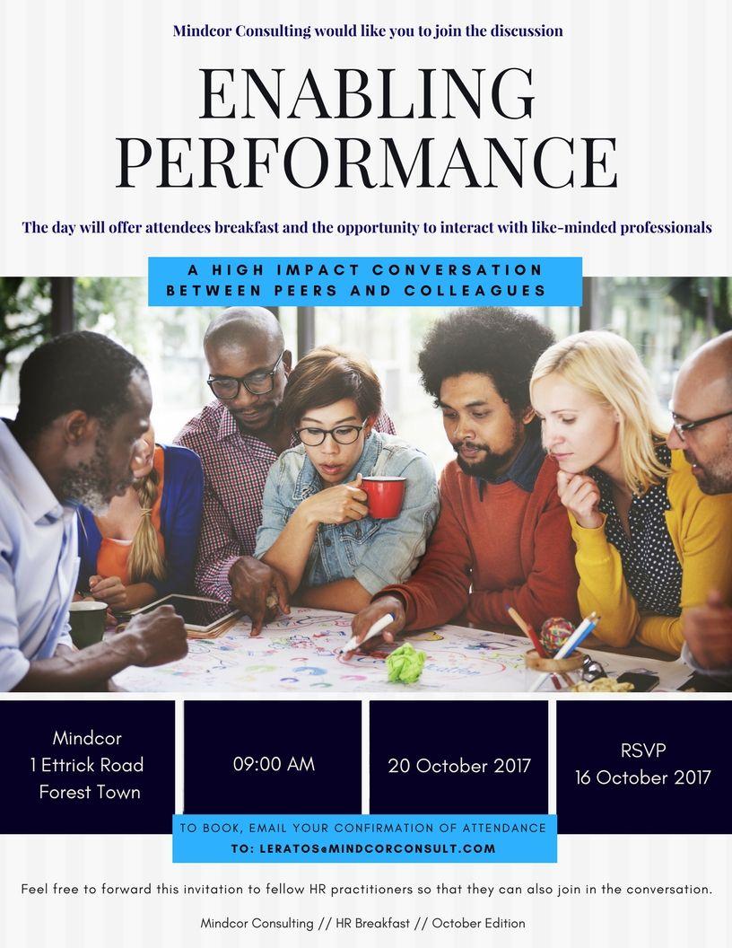 October HR Breakfast Invite