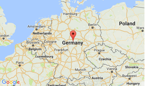 InterSearch Germany Map