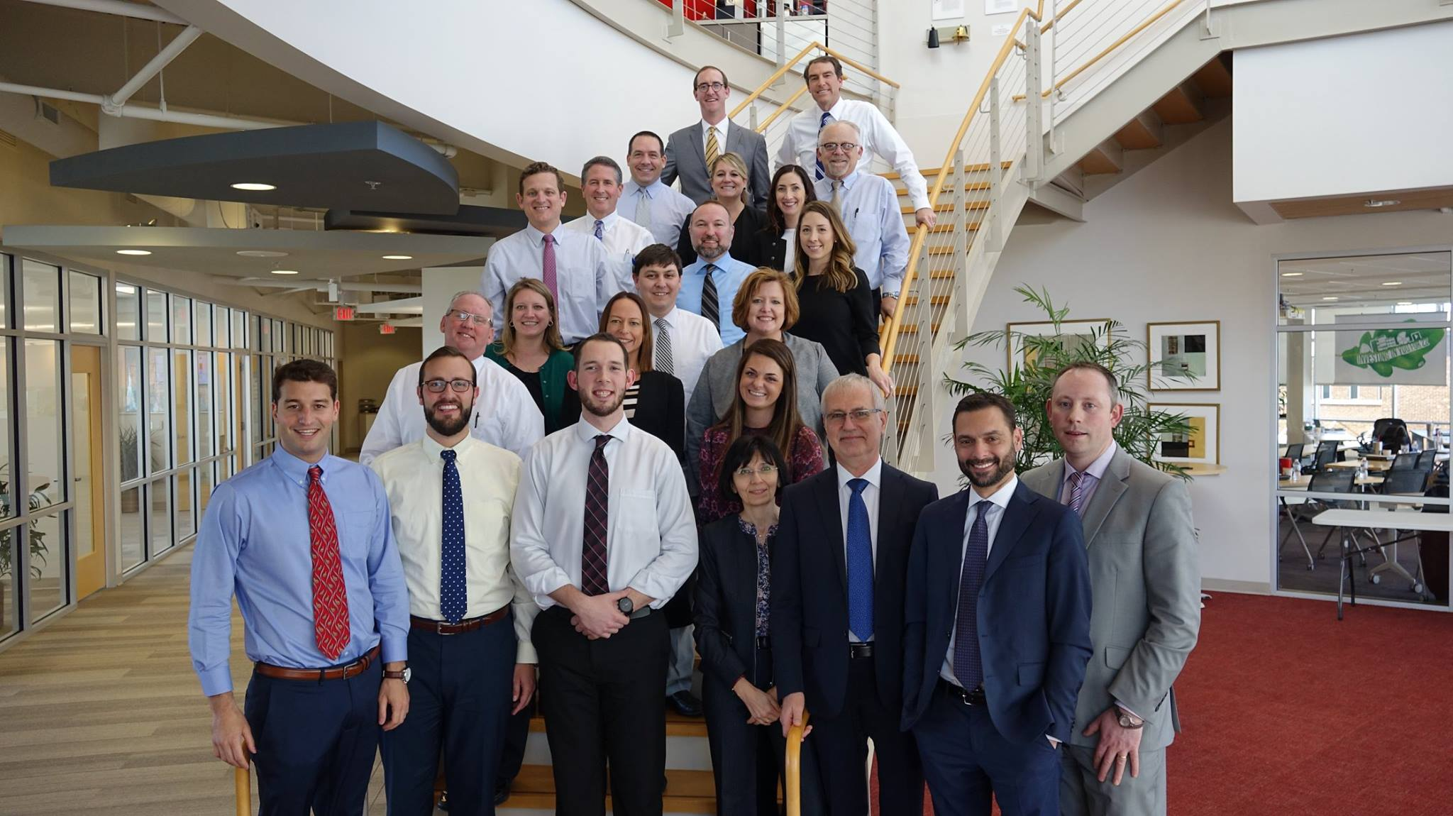 Charles Aris team members proudly hosted the InterSearch board of directors in mid-March 2018