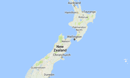 InterSearch New Zealand Map